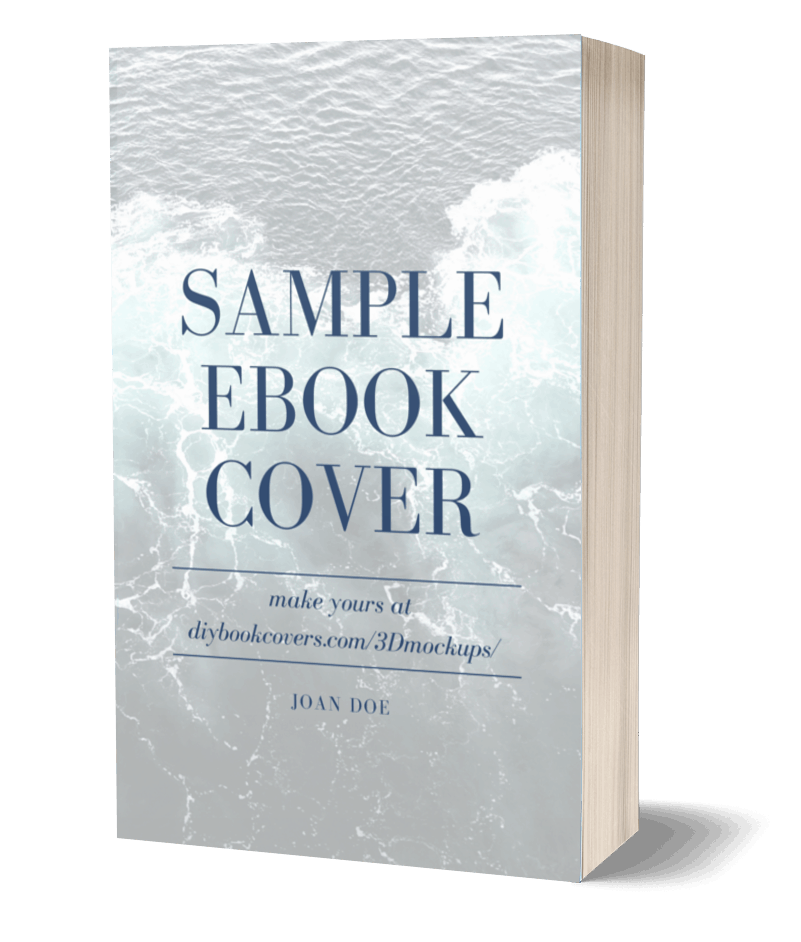 Sample Ebook 3d Cover Left